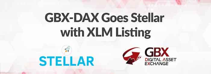 Gibraltar Blockchain Exchange lista XLM