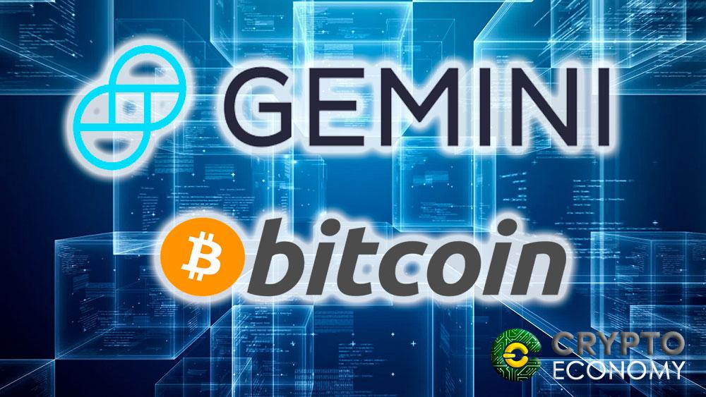Criptocasa de cambio Gemini permite el Block Trading con Bitcoins
