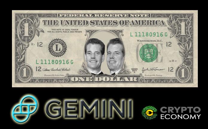 Gemini announces the release of the Gemini dollar