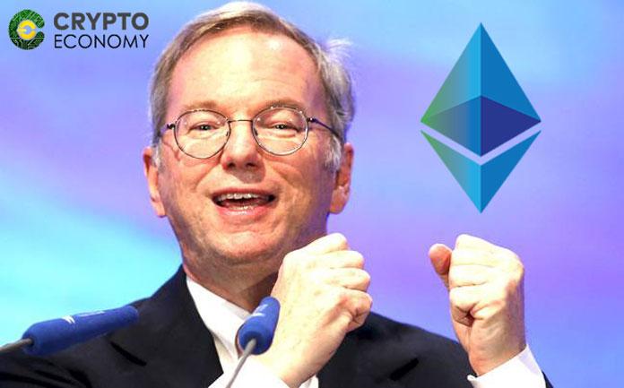 Billionaire Ex-Google CEO Eric Schmidt is Bullish on Ethereum [ETH] Prospects