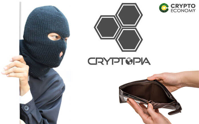 The Cryptopia Hack Not Over Yet, this time 1,675 ETH have been stolen