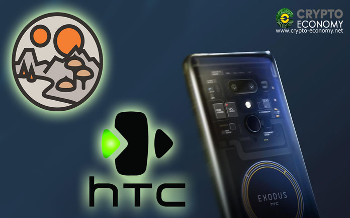 Decentraland partnership with the smartphone giant HTC