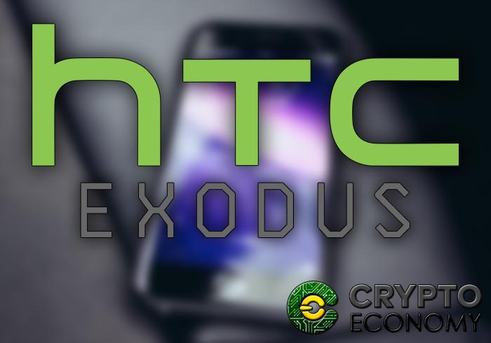 htc presenta exodus movil con blockchain nativo