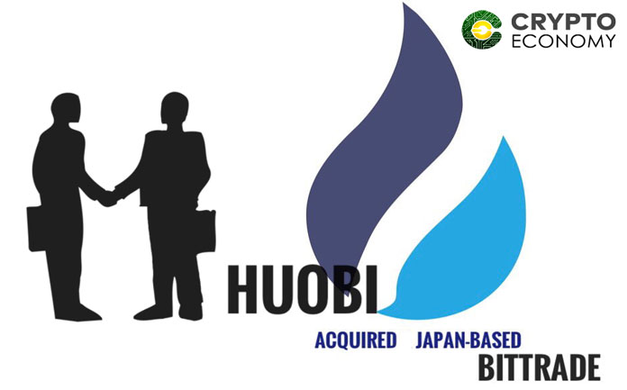 Huobi Global made the acquisition through its Japanese subsidiary Huobi Japan