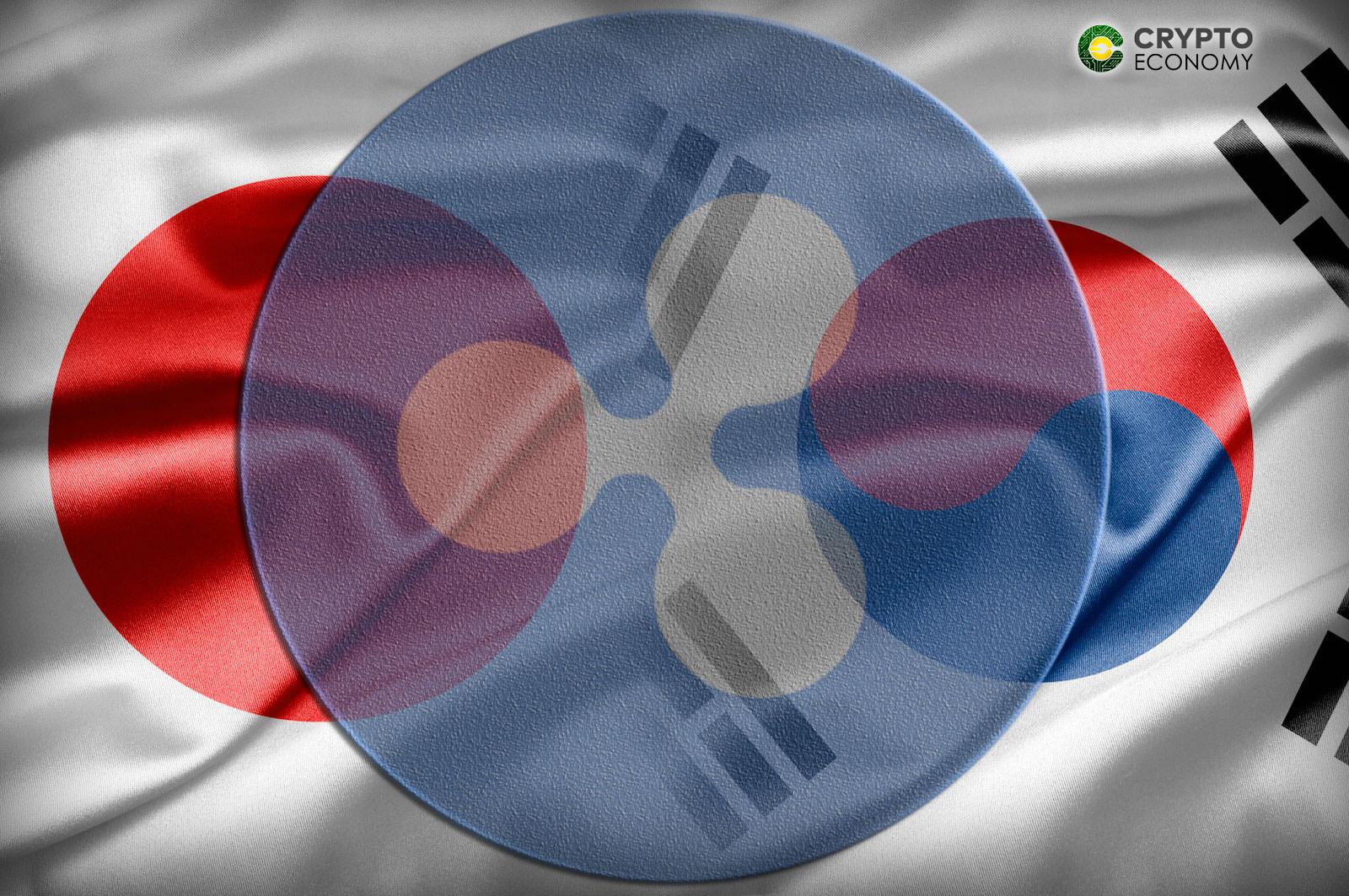 Japan Korea Ripple