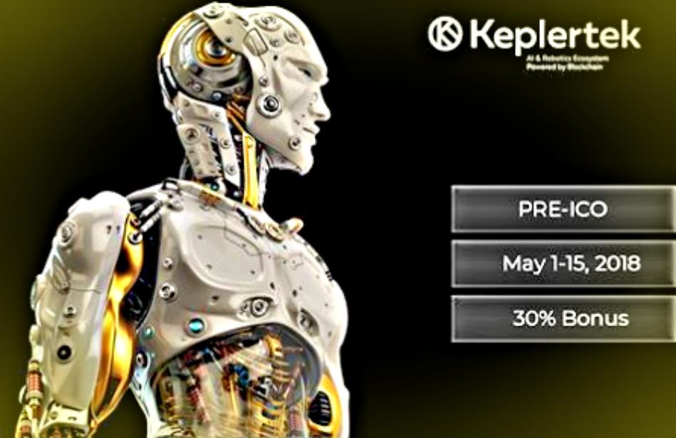 keplertek robotics artificial intelligence blockchain