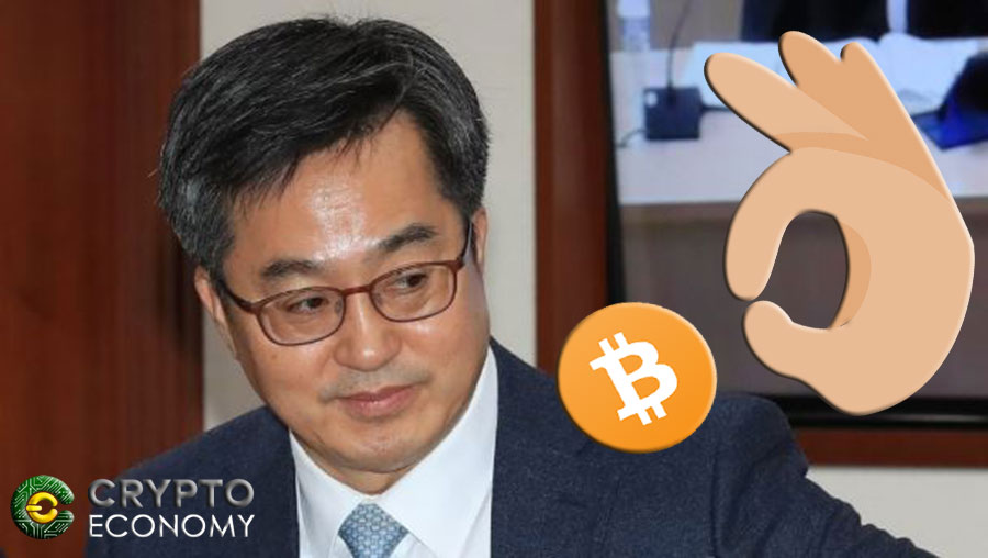 corea del sur minister