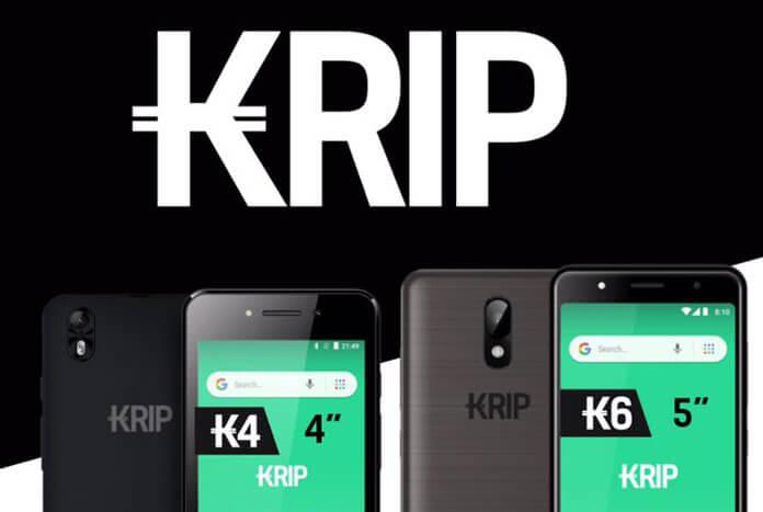 Kriptomobile, a low-cost smartphone