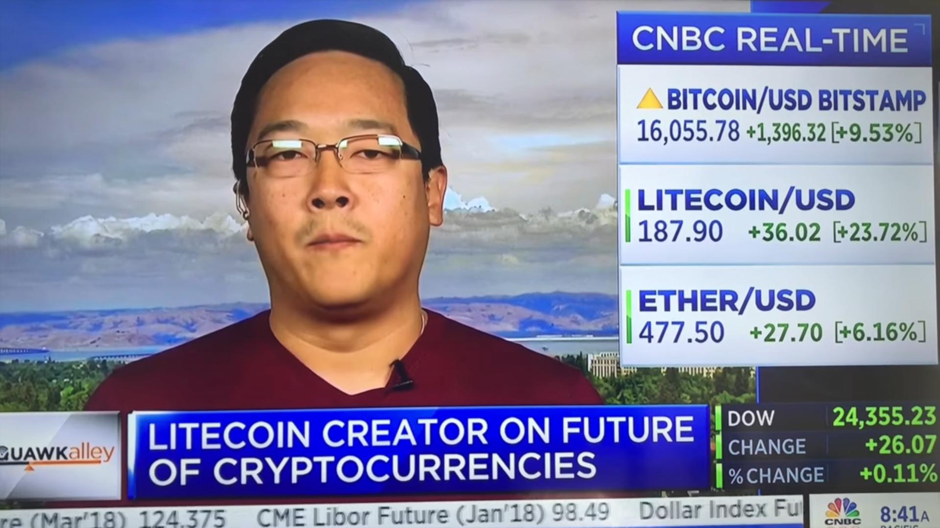Litecoin creator