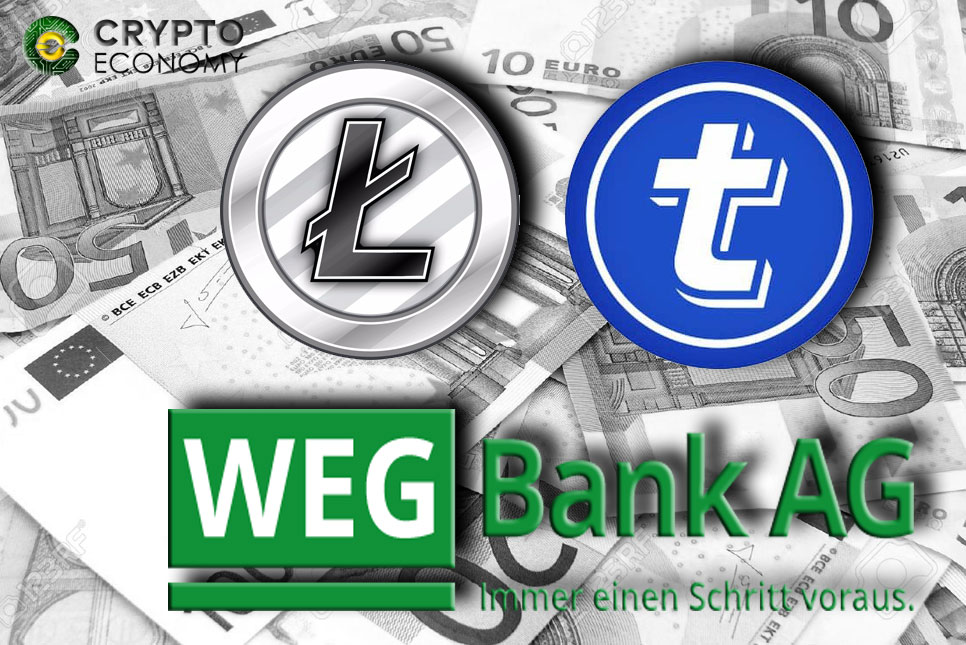 Litecoin Foundation partners with TokenPay to acquire participation of WEG Bank