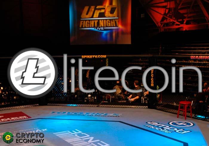 Litecoin [LTC] socio UFC