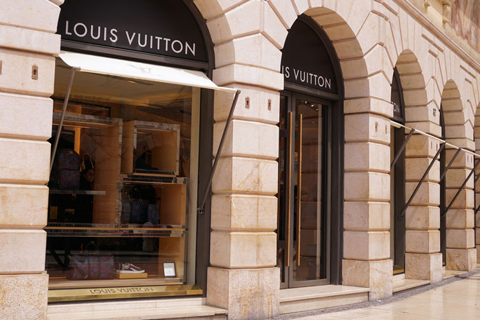 LVMH reportedly controls at least 60 brands
