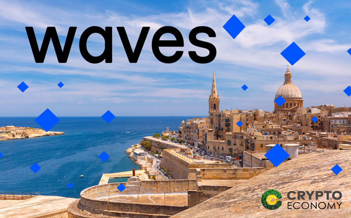 Waves opens the dialogue with Malta to enter into the 'Blockchain Island'
