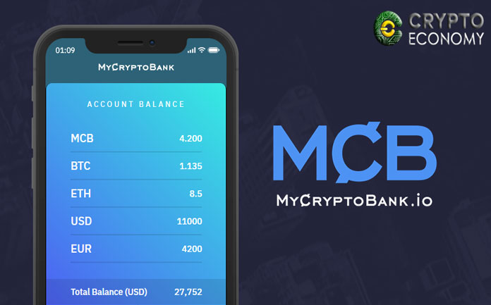 MyCryptobank, easy banking without borders