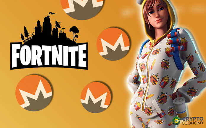 Fortnite merchandise can already be purchased with Monero as its first accepted cryptocurrency