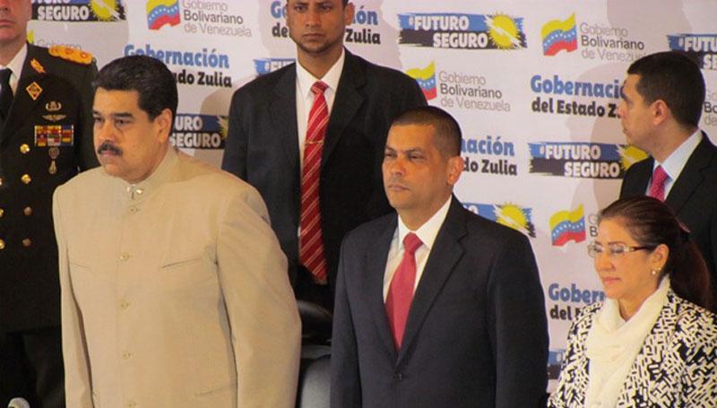 Omar Prieto and Maduro promote cryptocurrency mining farm