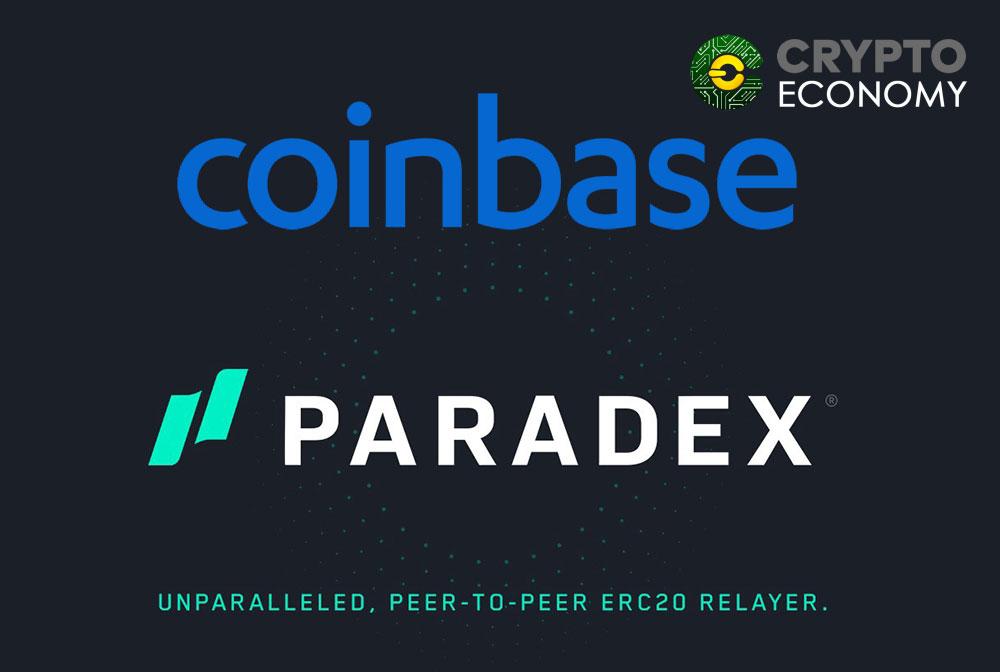 Coinbase adquires Paradex