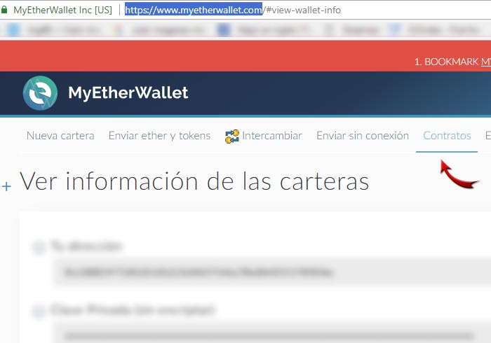 Step 6 register wallet eos