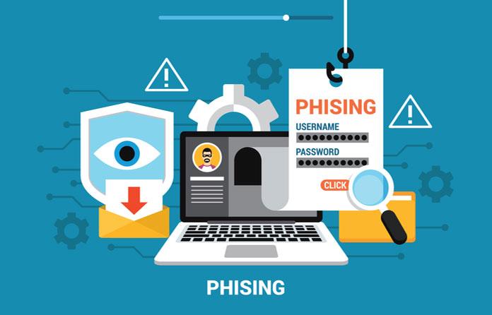 """phishing"" or identity impersonation."