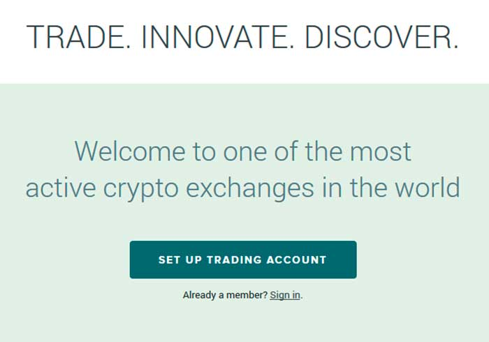 create account poloniex
