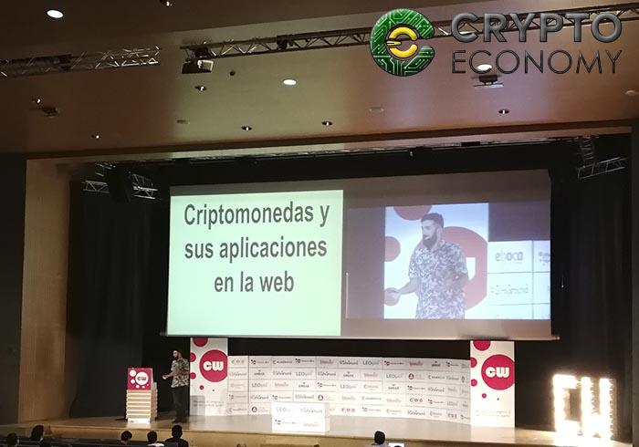 Ivan garcia presentation criptomonedas web congress 2018