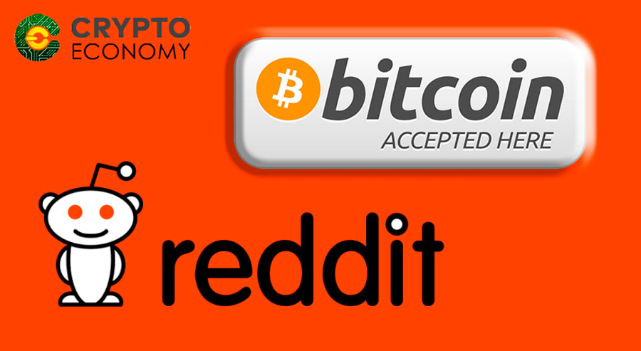 Reddit will accept payments in Bitcoin