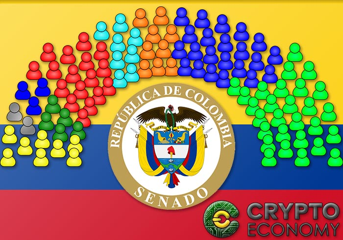 The senate of colombia studies blockchain and the cryptocurrencies