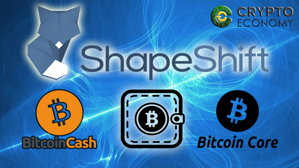 shapeshift bitcoin cash