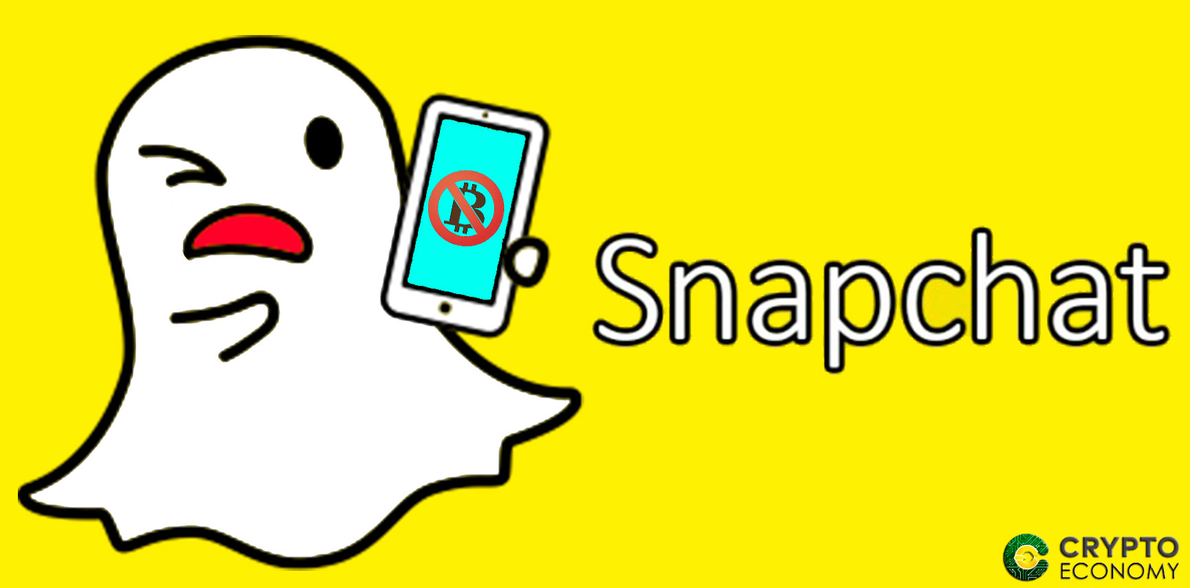 Snapchat bans ICOS and cryptocurrencies