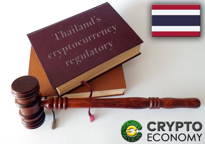 tailandia regulatory cryptocurrencies