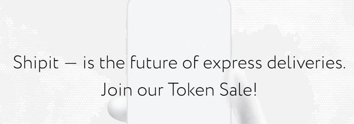 sale of shipit tokens