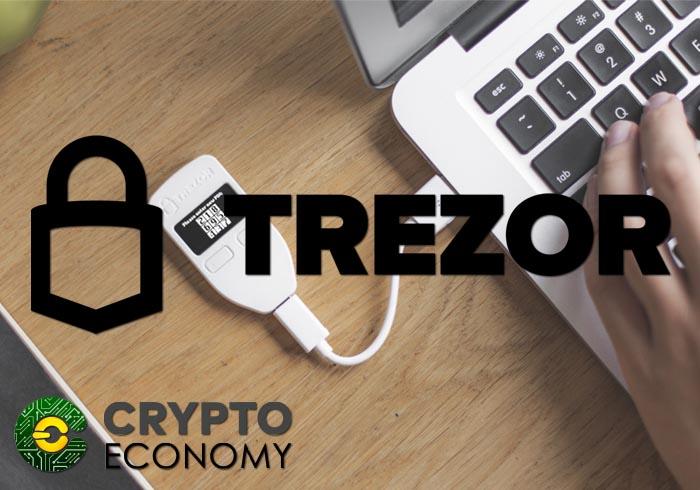 trezor dara soporte a bitcoin cash cashaddr