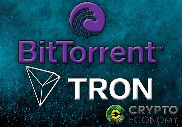tron and bittorrent merge ad