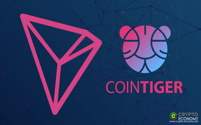 Tron Foundation Partners with Cointiger to Create World's First TRX Marketplace