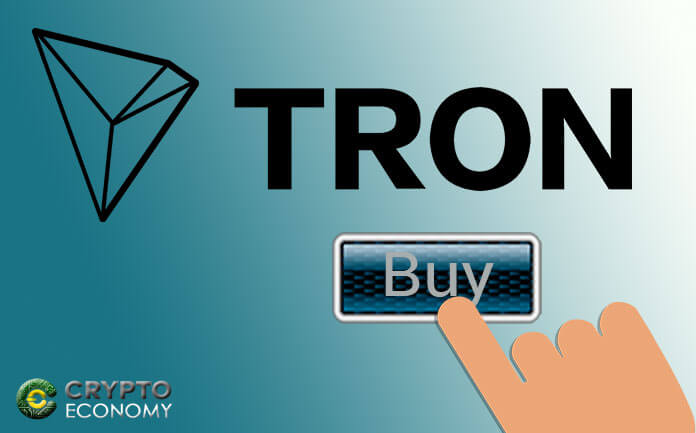 The TRON network: How to buy TRX in Local TRON