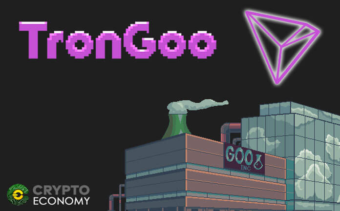 The popular EtherGoo Converts to TRON with the New Game TronGoo