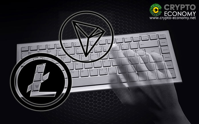 Litecoin (LTC) and Tron (TRX) towards the league of anonymous cryptocurrencies