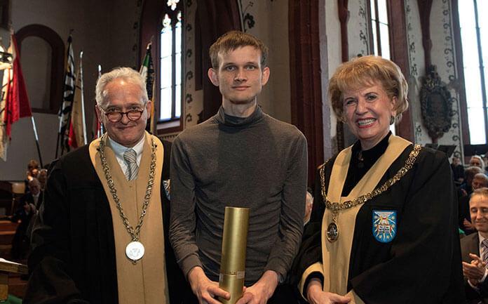 Vitalik Buterin receives a doctorate