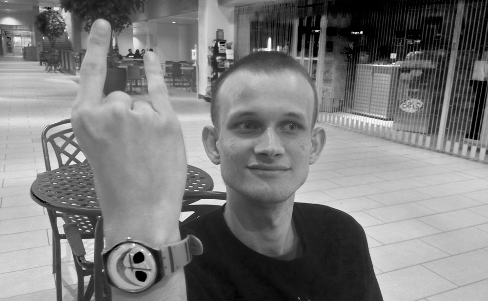 Vitalik is angry with those who boast of wealth