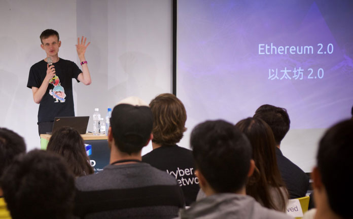 Vitalik Buterin Ethereum 2.0 project