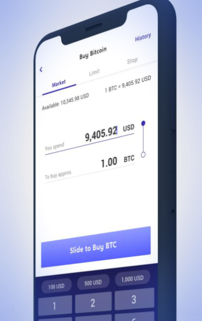 the voyager application allows you to buy cryptocurrencies