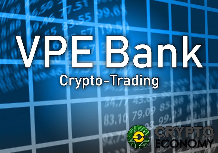 Vpe bank the first German bank that trades with cryptocurrencies