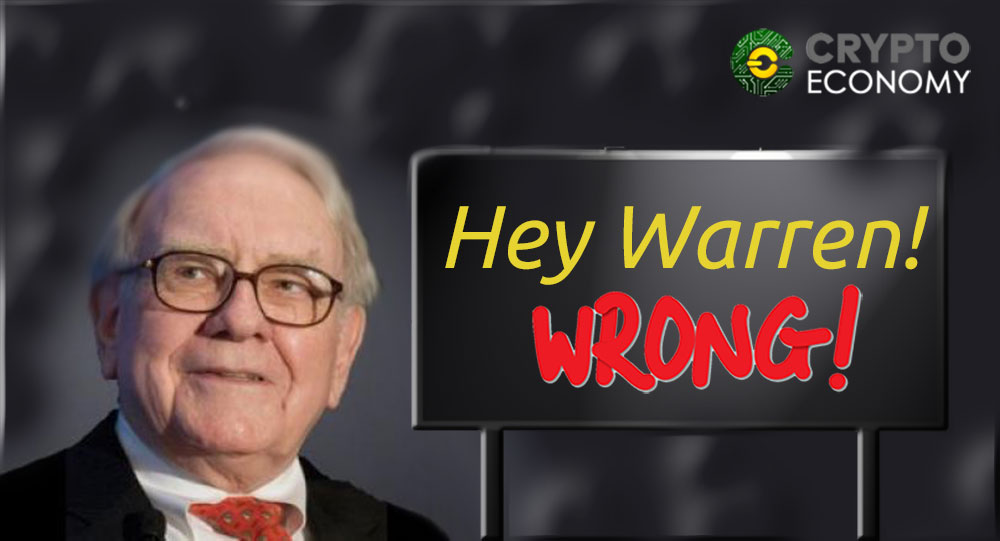 Warren maybe you were wrong about bitcoin