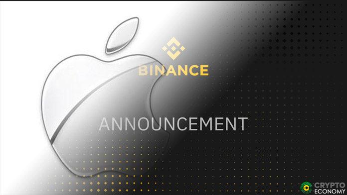 Binance iOS apple