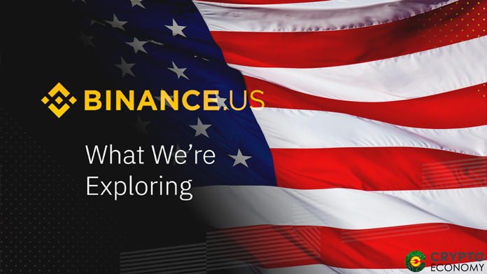 BInance subsidiary in the US