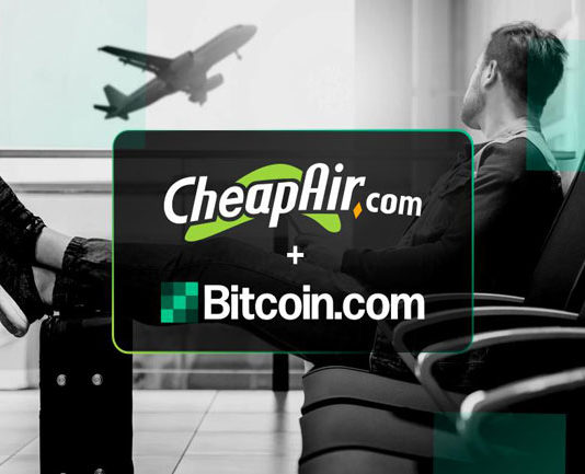 Bitcoin Cash [BCH] – Bitcoin.com Partners with Online Travel Agency CheapAir.com