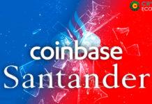 Santander UK Coinbase