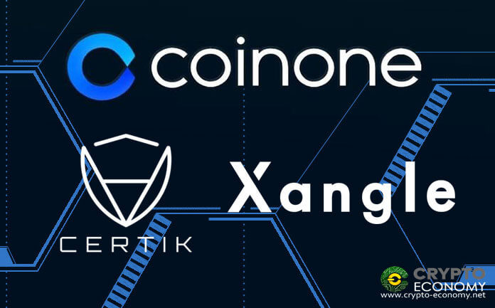 South Korean Cryptocurrency Exchange Coinone Partnered with CertiK and Xangle to improve safety and transparency