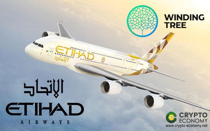 Etihad Airways Signs Up On Switzerland-Based Winding Tree Platform to Explore blockchain Technology