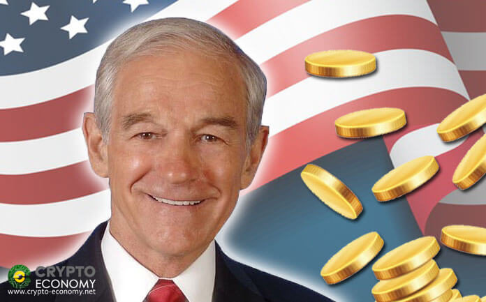 Former Republican Congressman and Presidential Aspirant Ron Paul is in Favor of the Crypto Sector
